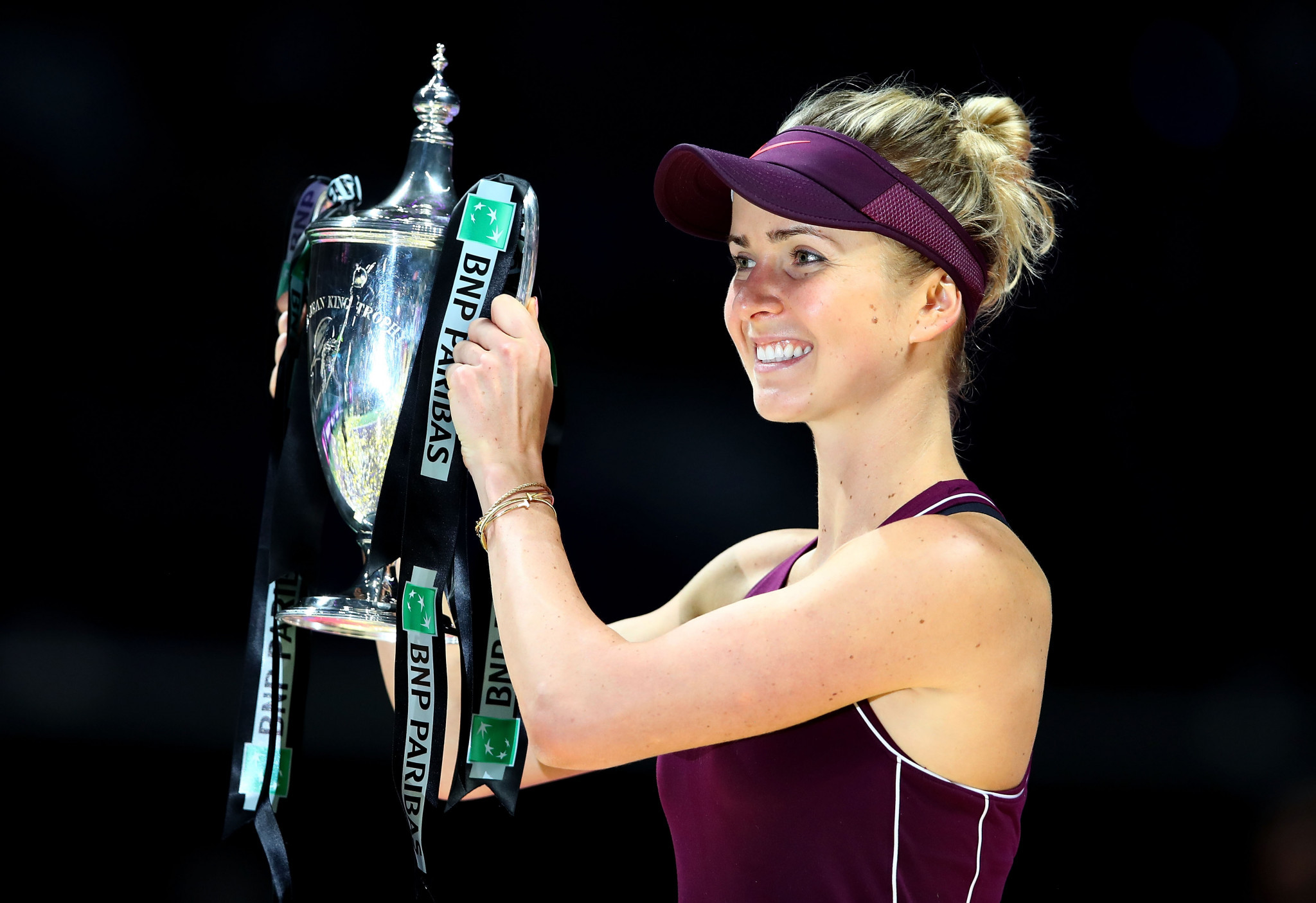 Svitolina wins biggest title of her career at WTA Finals