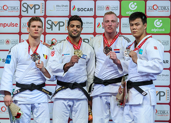Israel win historic gold and gain Grand Prix event as World Judo Day marked at IJF Abu Dhabi Grand Slam