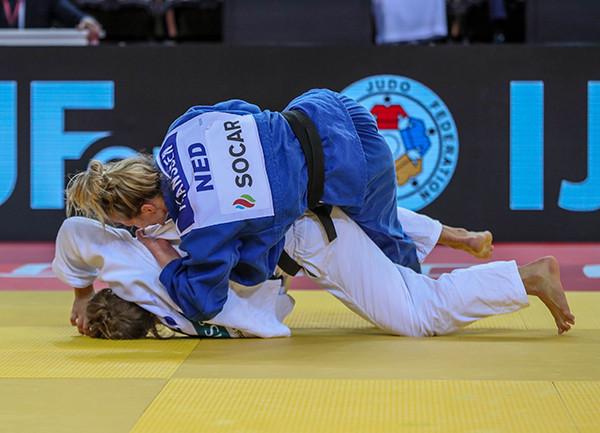 Juul Franssen won a gold medal for The Netherlands  ©IJF