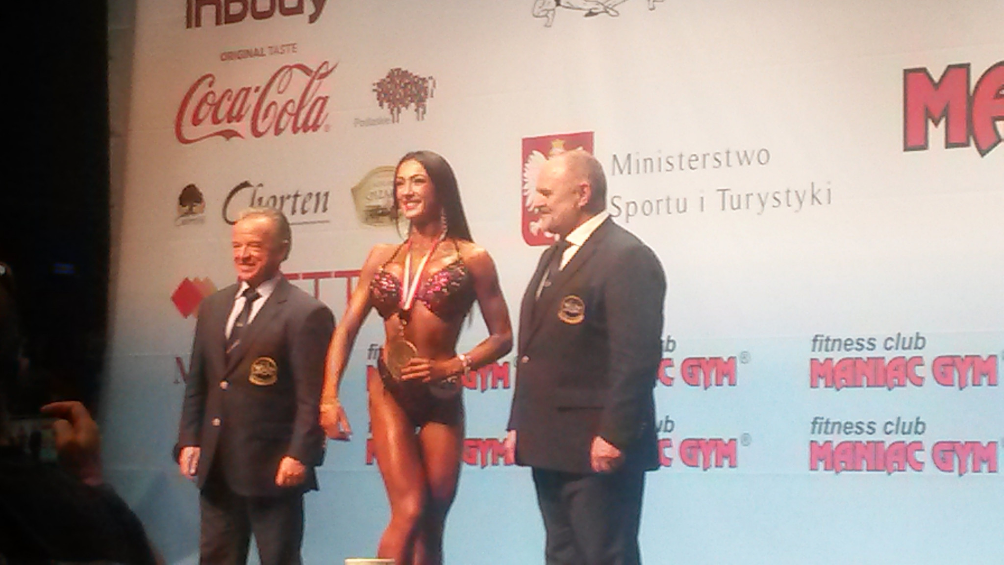 Lithuania celebrates as Ziauberyte claims overall women's bikini fitness title on final day of IFBB World Fitness Championships