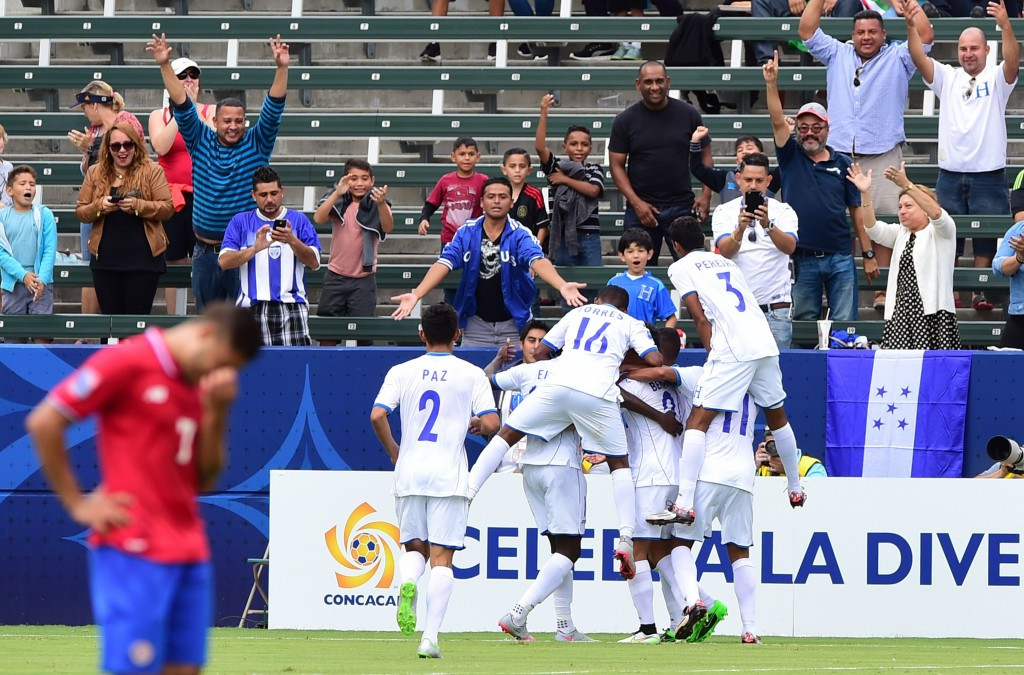 Honduras and Mexico reach 2015 CONCACAF Men's Olympic Qualifying Championship semi-finals
