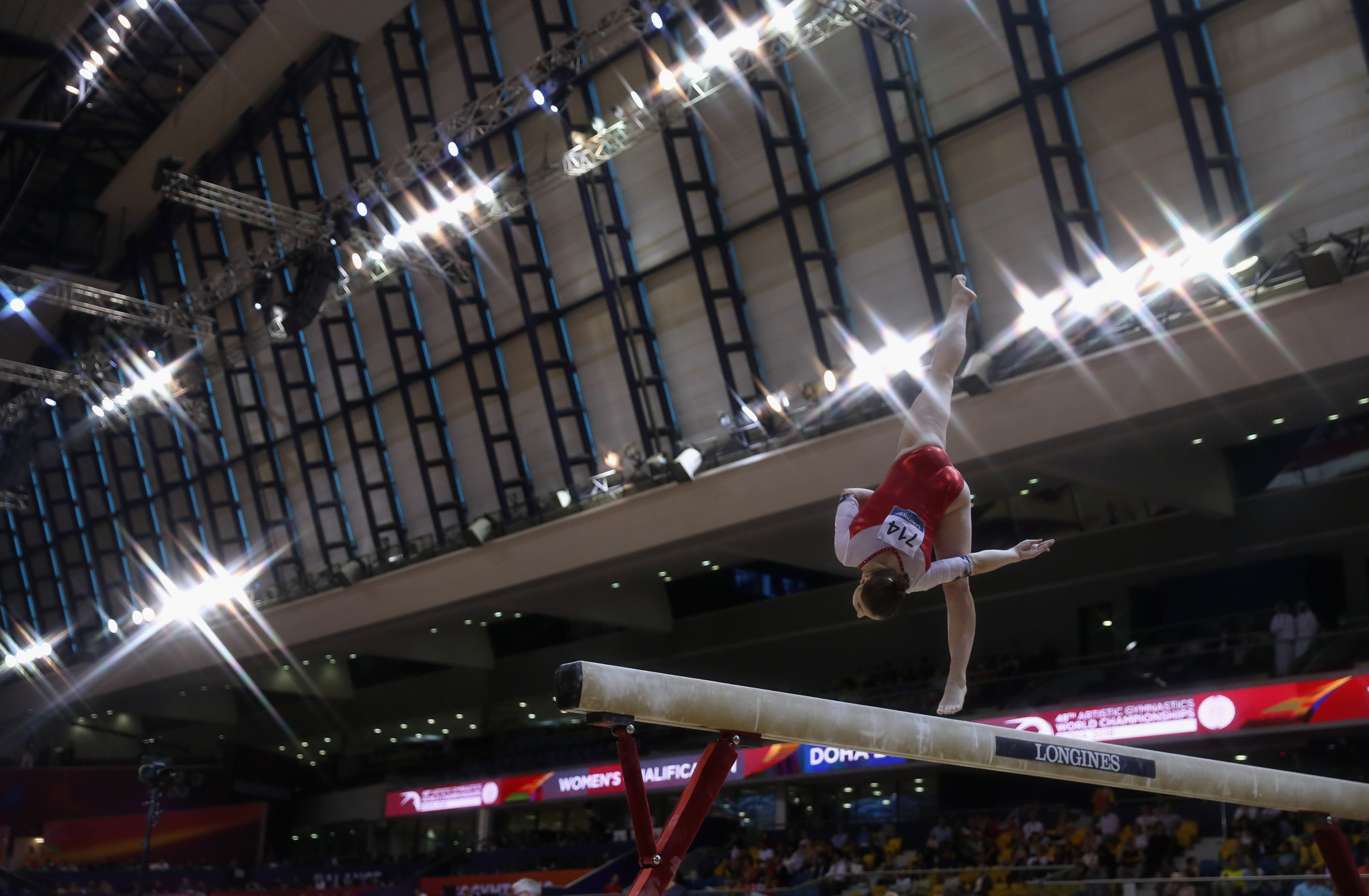 Russia and China unable to overhaul United States in women's team qualification at World Artistic Gymnastics Championships