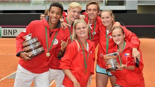 Canada win Junior Davis Cup as Czech Republic claim Junior Fed Cup crown