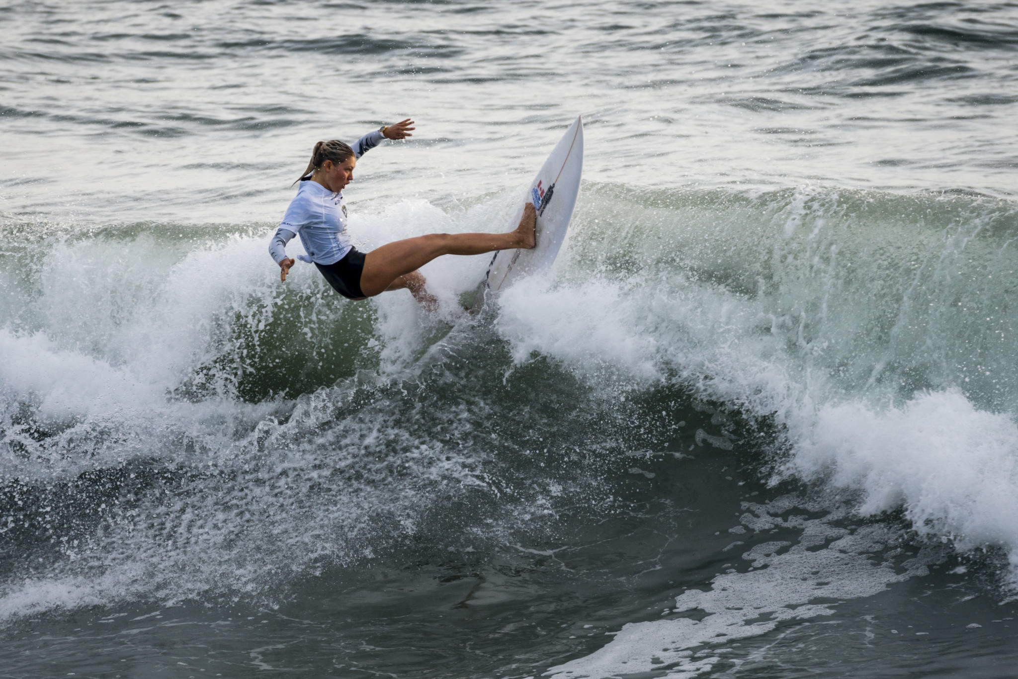 Girls impress on first full day of action at 2018 ISA World Junior Surfing Championships
