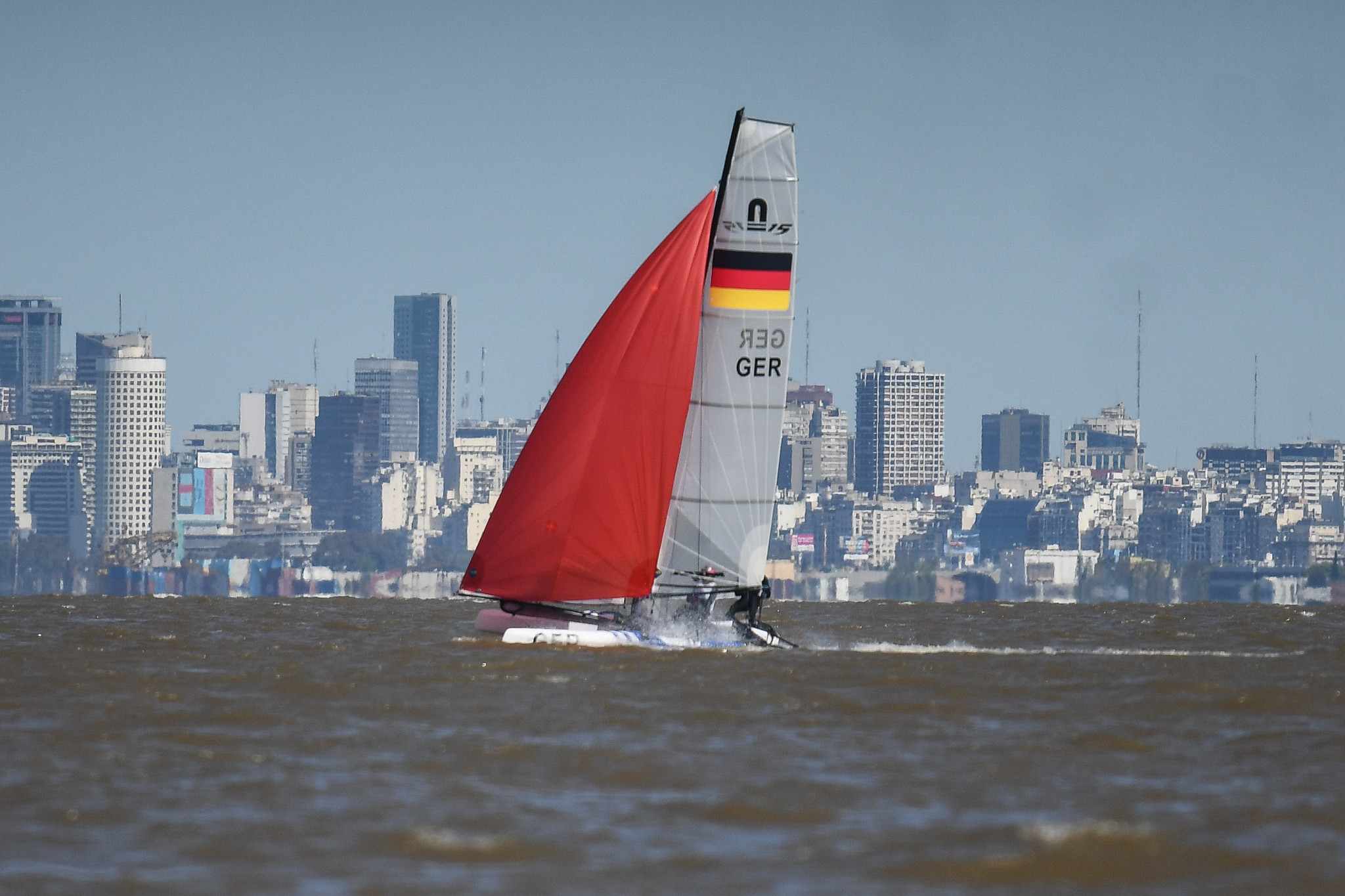 World Sailing are facing significant criticism for proposing the introduction of a keelboat class at the 2024 Paris Olympics ©Getty Images
