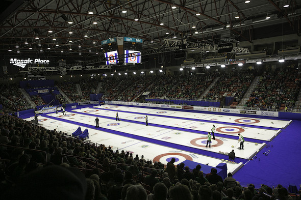 Curling Canada award 2020 Scotties Tournament of Hearts to Moose Jaw