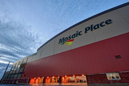 Mosaic Place will host the competition in 2020 ©Curling Canada