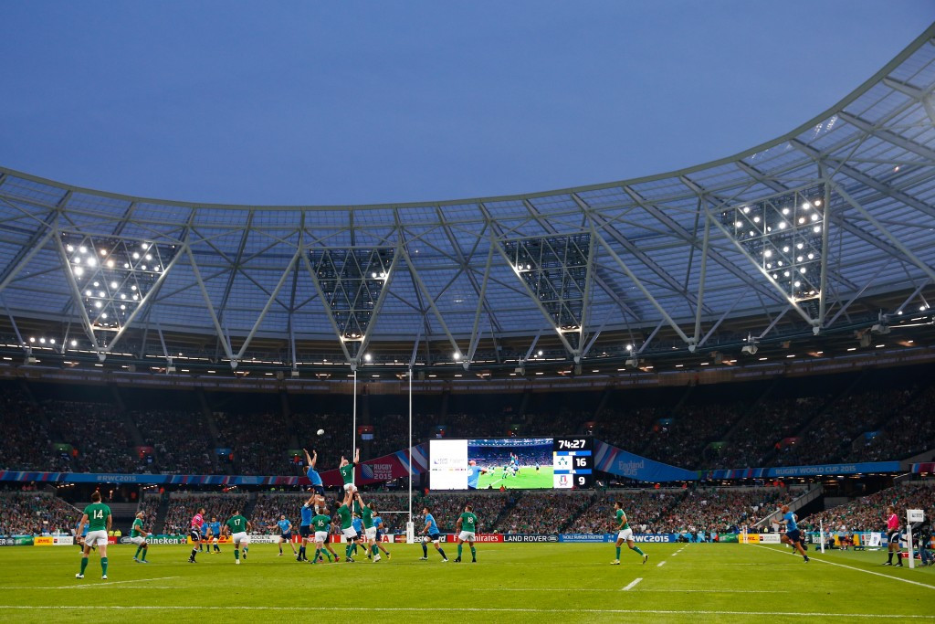 Construction company threaten Olympic Stadium break-in to disrupt Rugby World Cup matches over