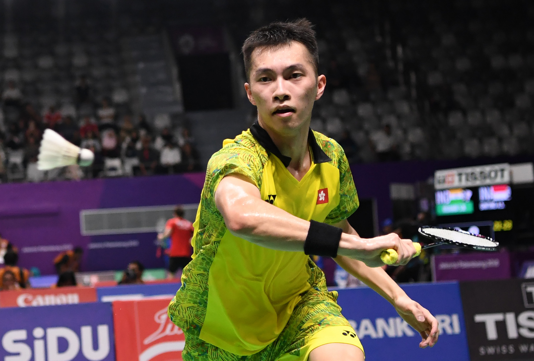 Ng Ka Long will start as the men's top seed ©Getty Images