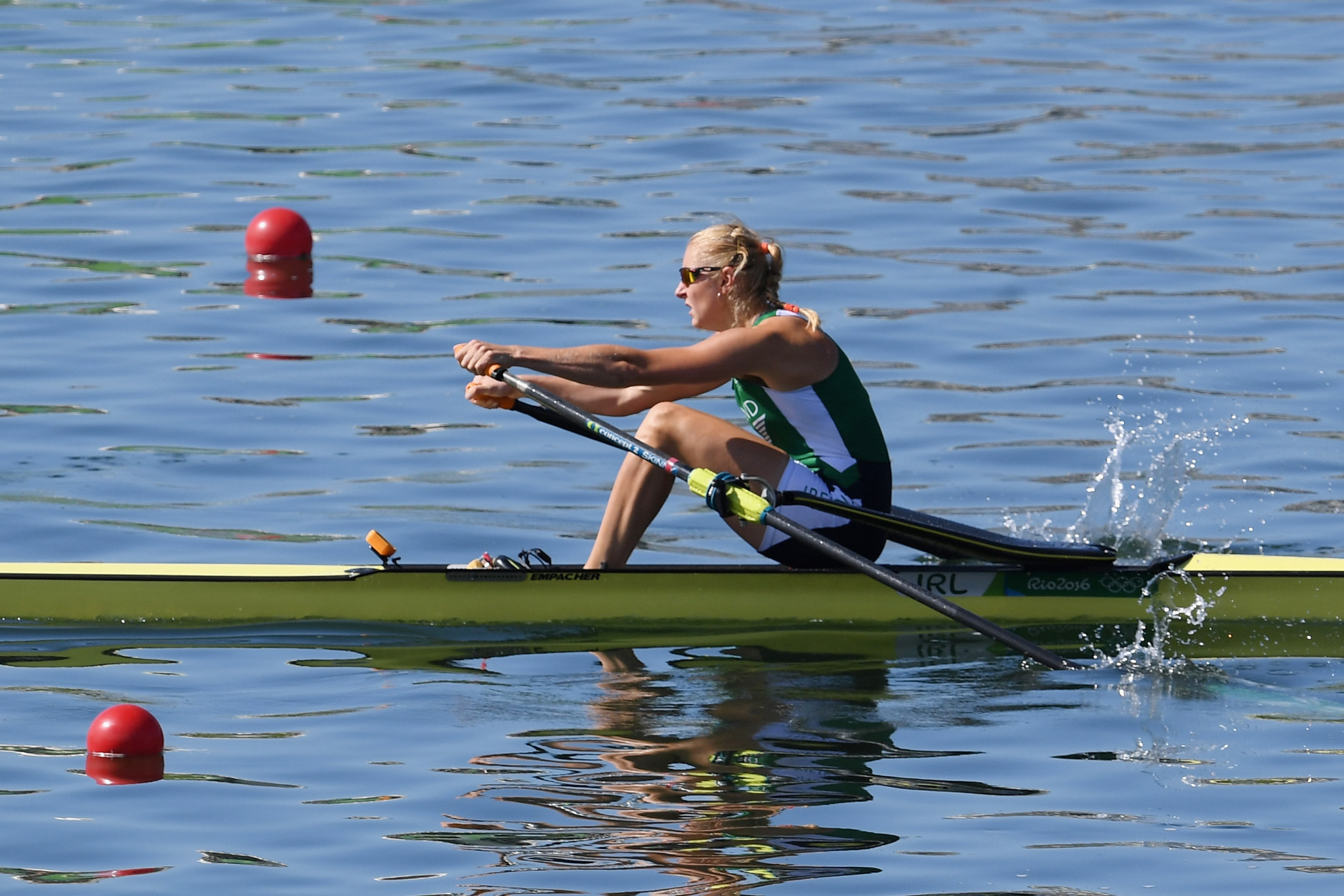 Ireland's Sanita Puspure is in contention for the women's crew of the year award ©Getty Images