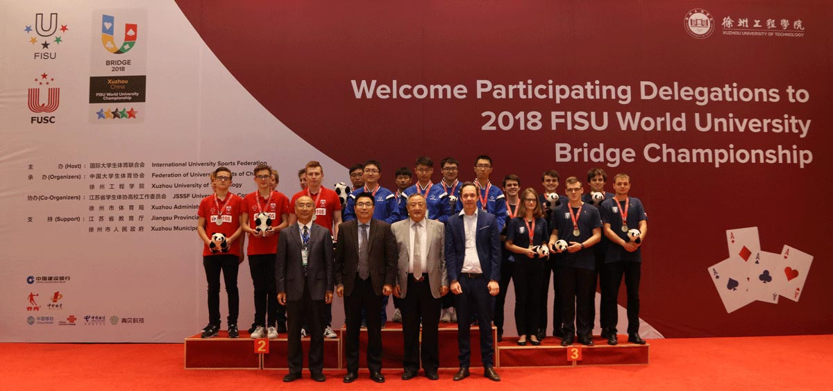 Hosts China win World University Bridge Championships