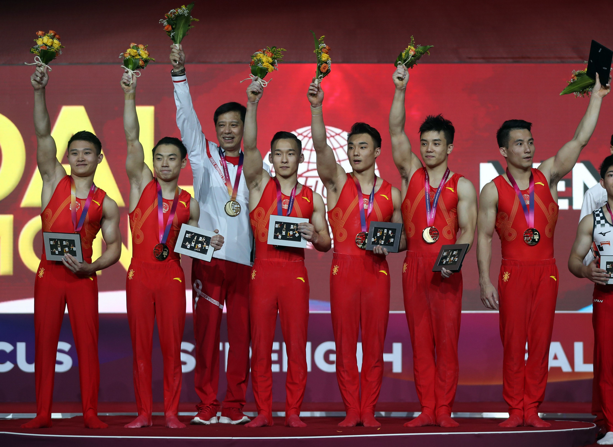 China win gold in the men's team final at World Artistic Gymnastics Championships