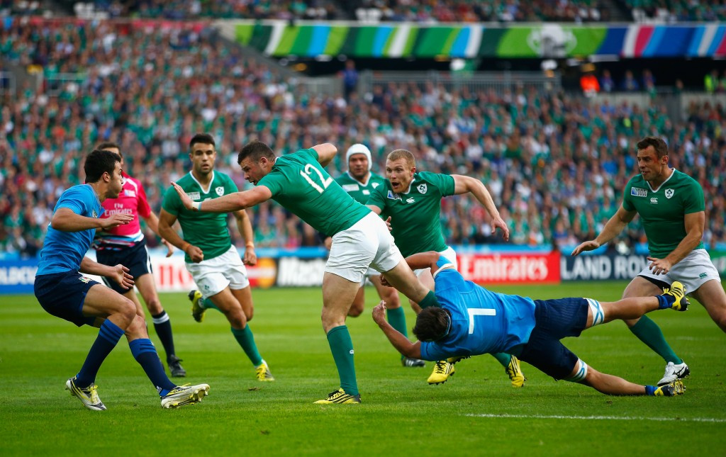 The Olympic Stadium in London has already staged three matches including Ireland's 16-9 victory over Italy yesterday