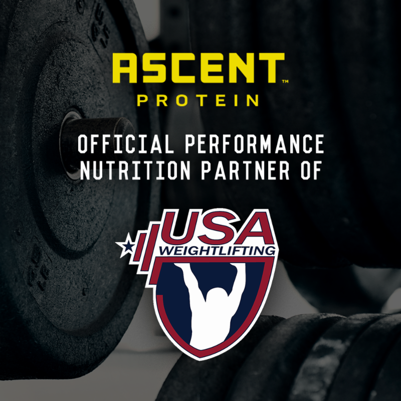 USA Weightlifting signs up Ascent Protein as official partner prior to 2018 World Championships
