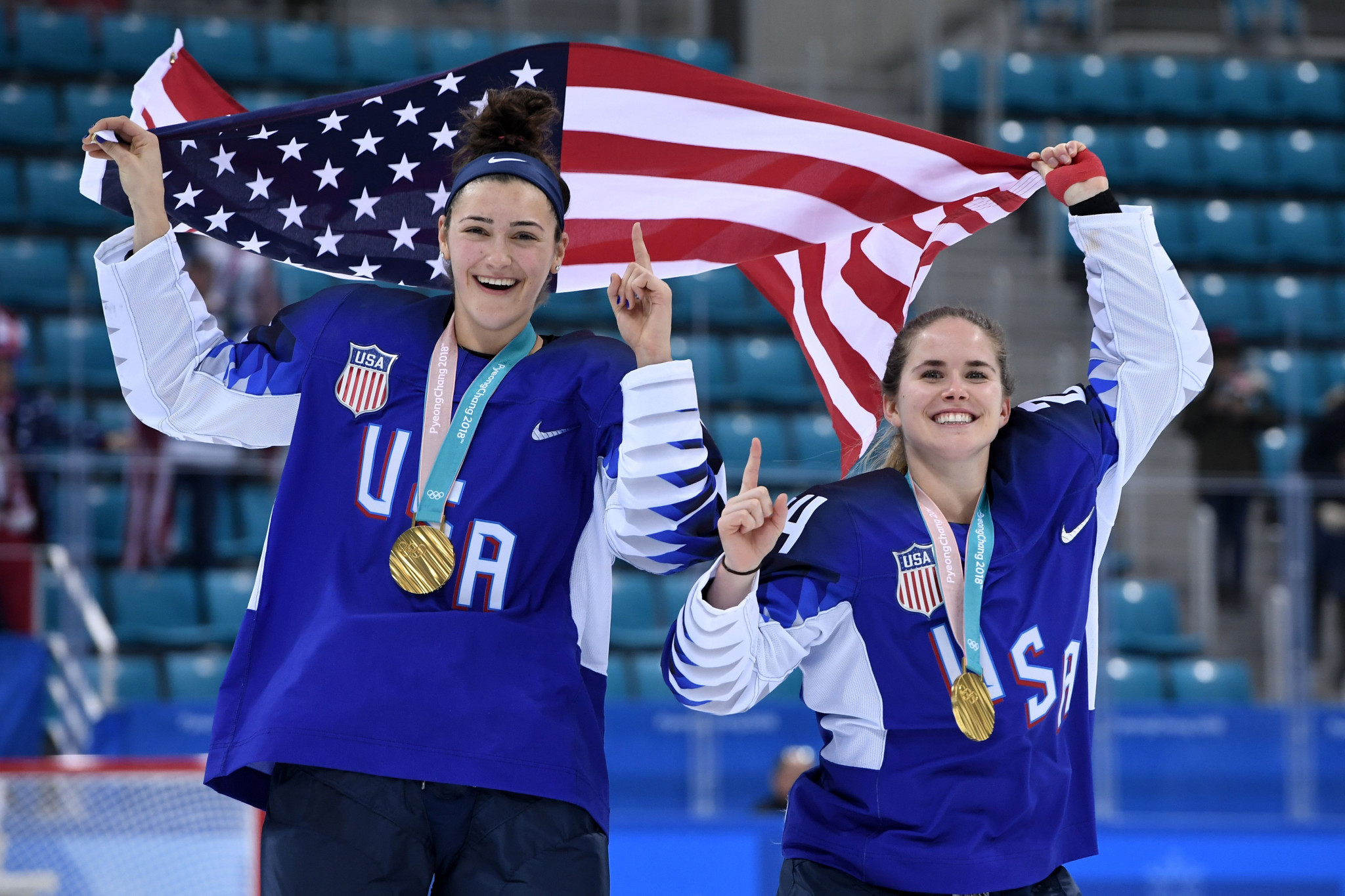 The United States are the reigning Olympic champions ©USA Hockey