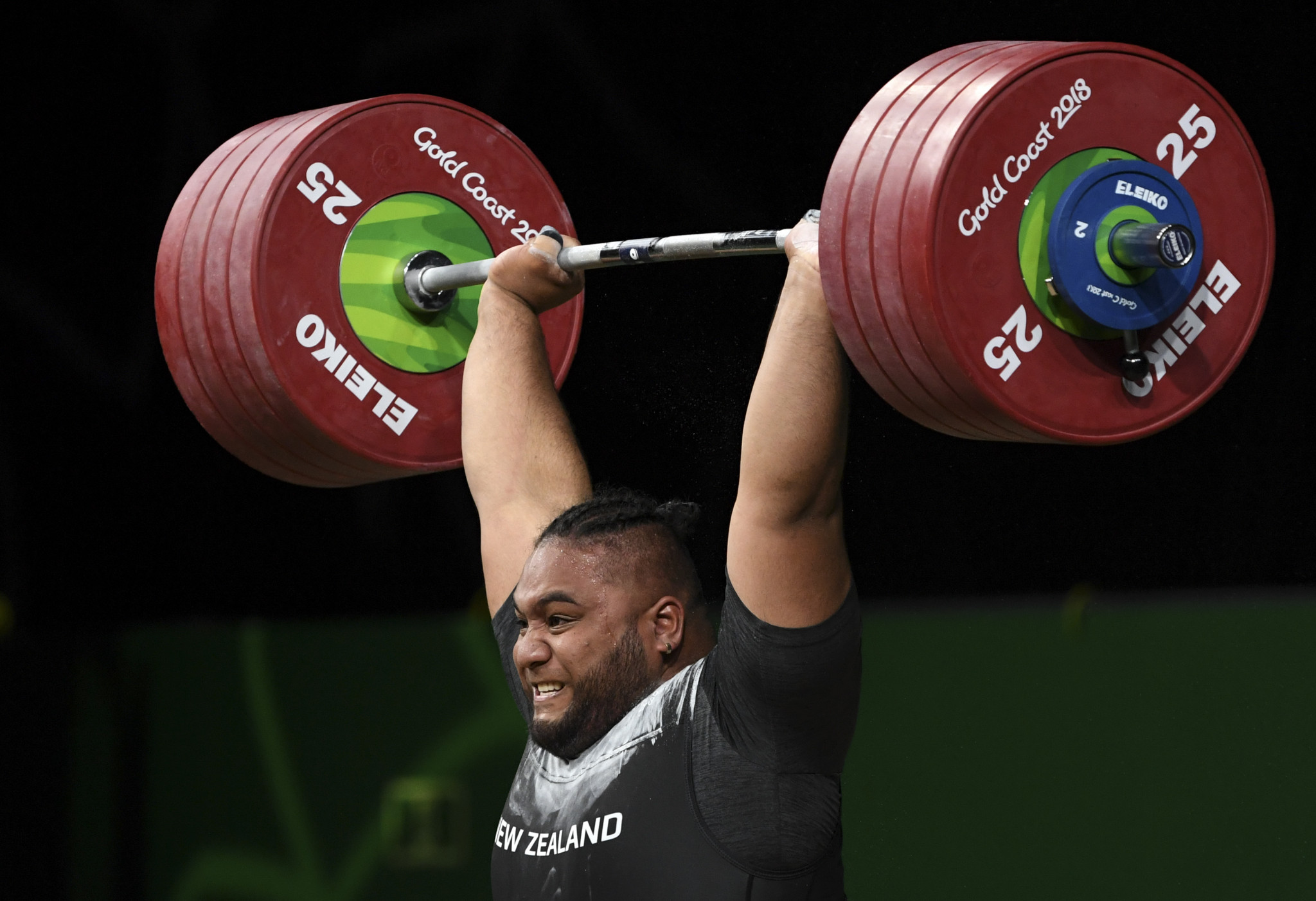 New Zealand's weightlifters have been strongly advised to stay away from Sonny Webster's training clinics ©Getty Images