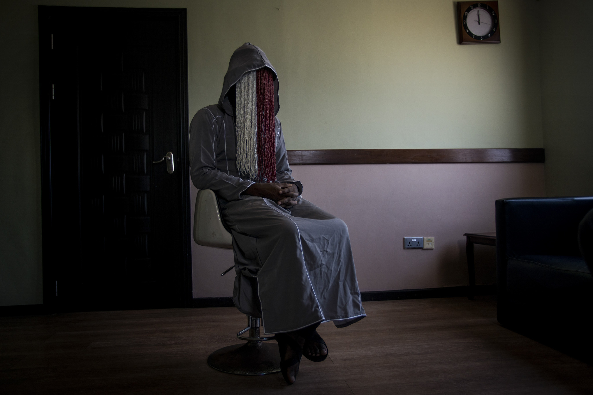 Ghanaian journalist Anas Aremeyaw Anas shot the footage which caught Kwesi Nyantakyi in the act ©Getty Images