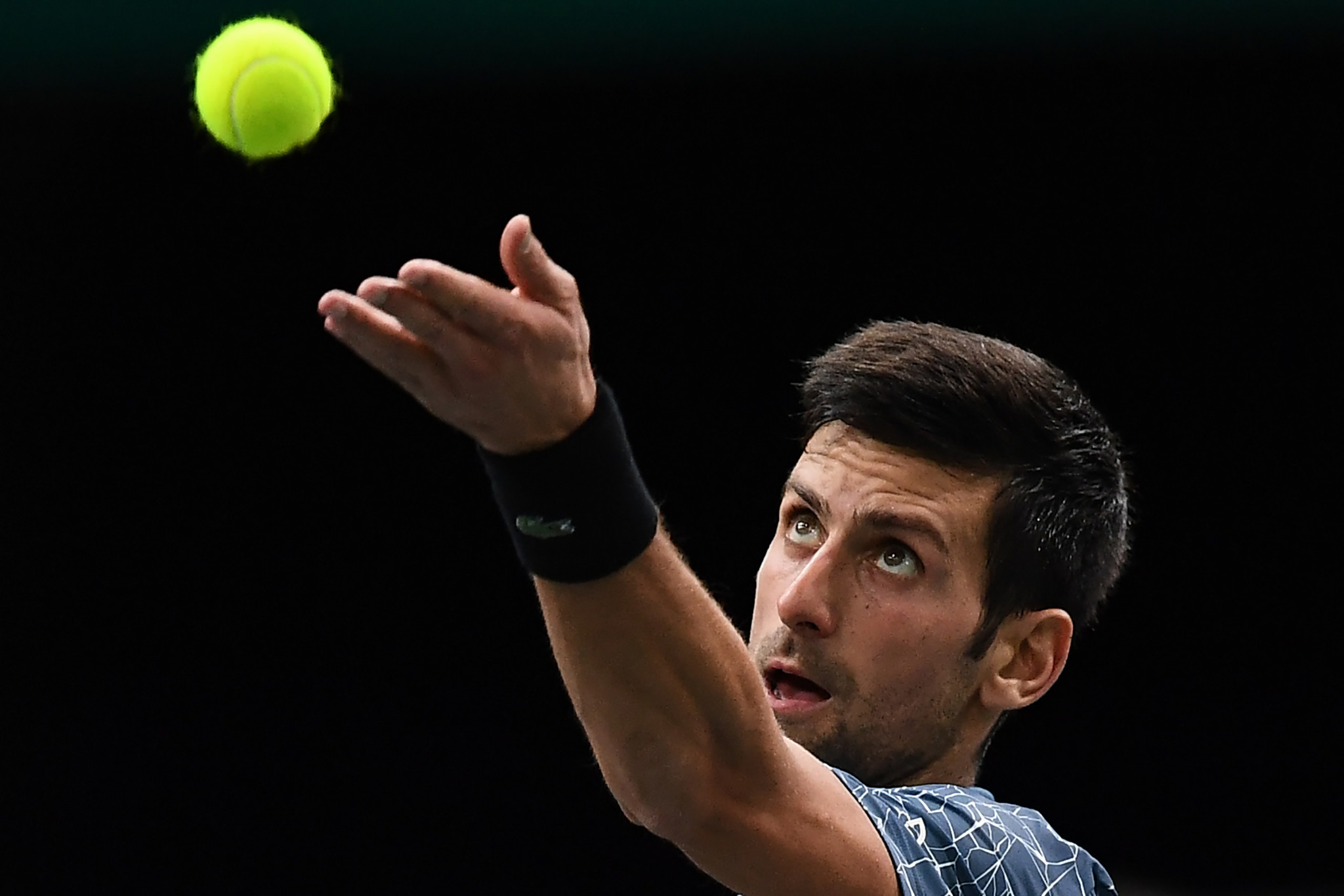Djokovic marks return to top spot with Paris win