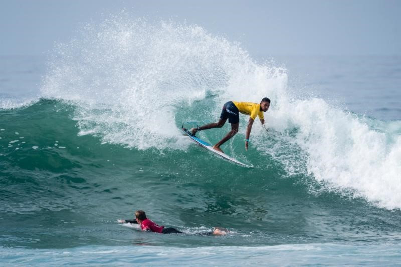 Perfect conditions on first day of repechage action at ISA World Junior Surfing Championships