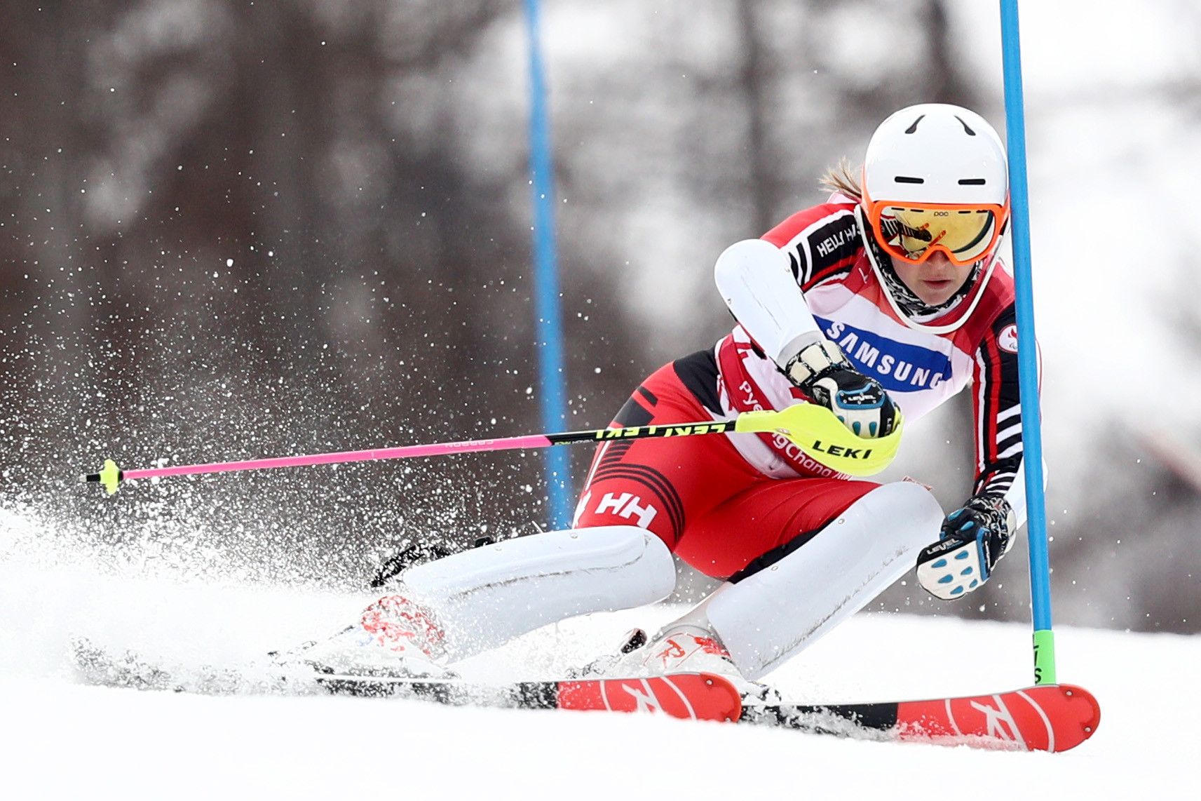 Mollie Jepsen will receive the best female athlete of the year award at the ceremony in Calgary ©Getty Images