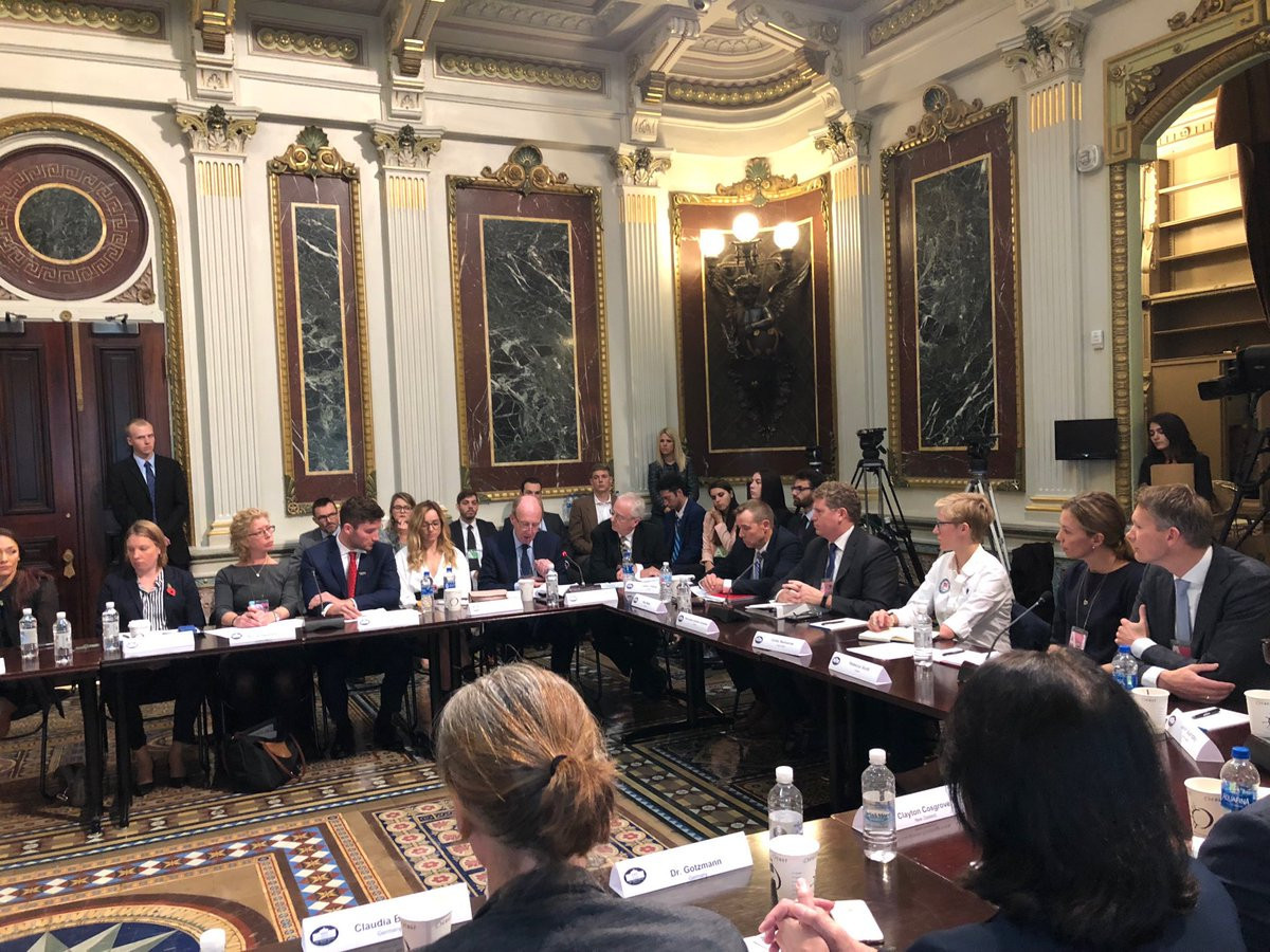 Athletes involvement at an anti-doping summit in the White House caused a brief schism and they look set to play a role in the race to choose a new President of the World Anti-Doping Agency next year ©Twitter
