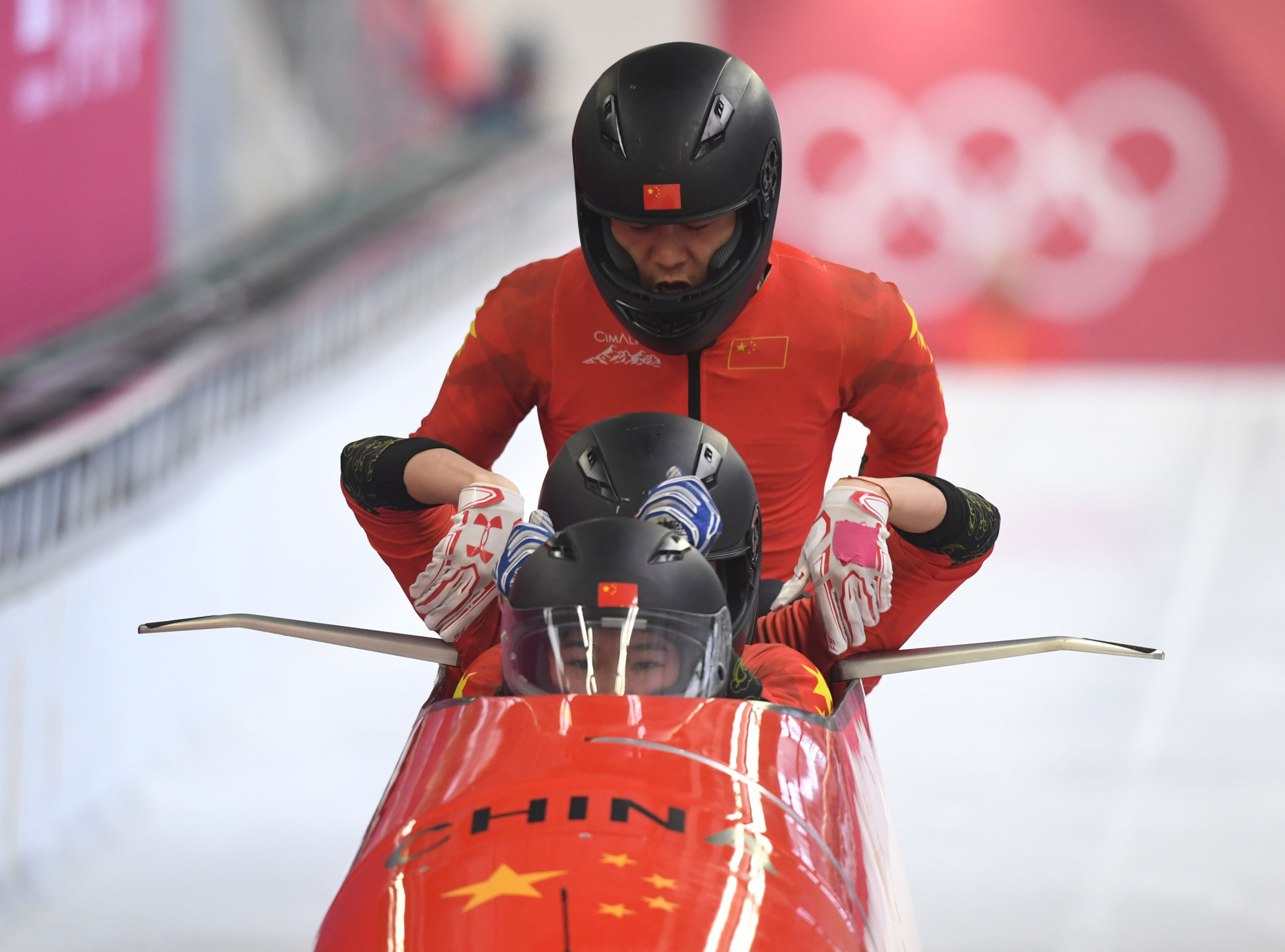 Bobsleigh is a sport in which China wants to improve before their home Olympics ©Getty Images