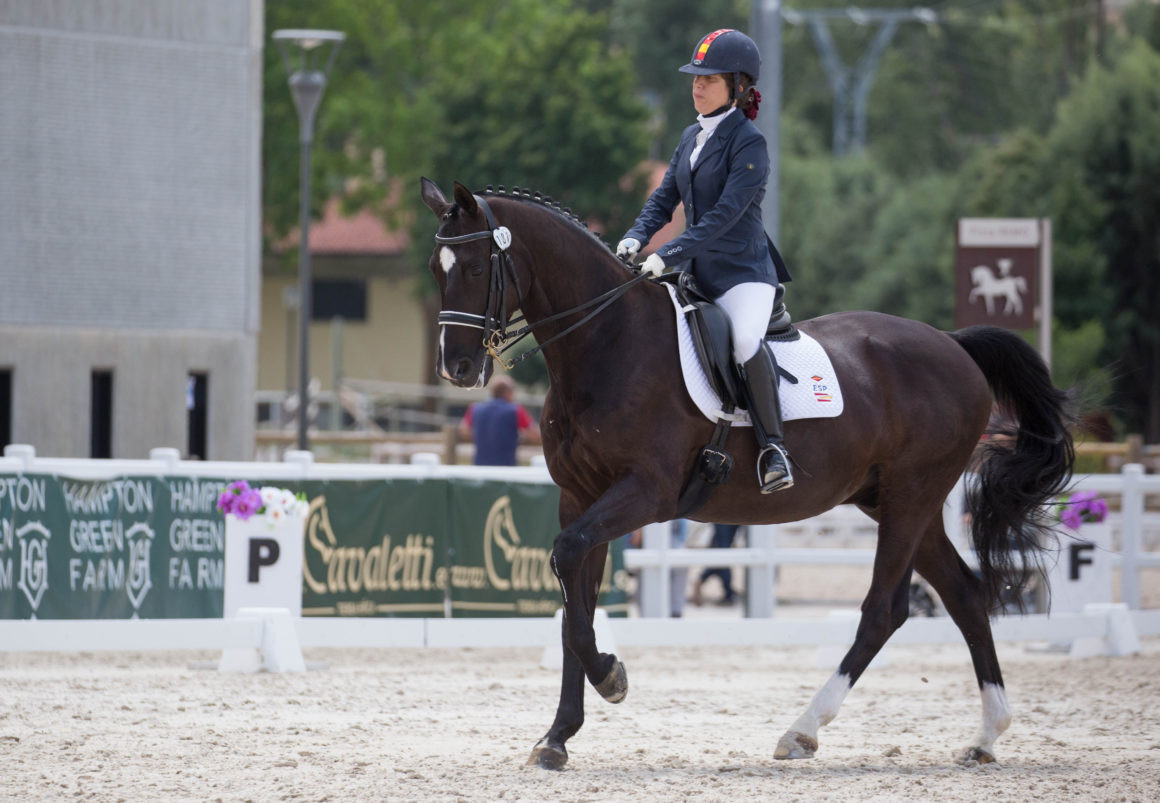 Spain's Villalba triumphs in INAS Para-equestrian video competition