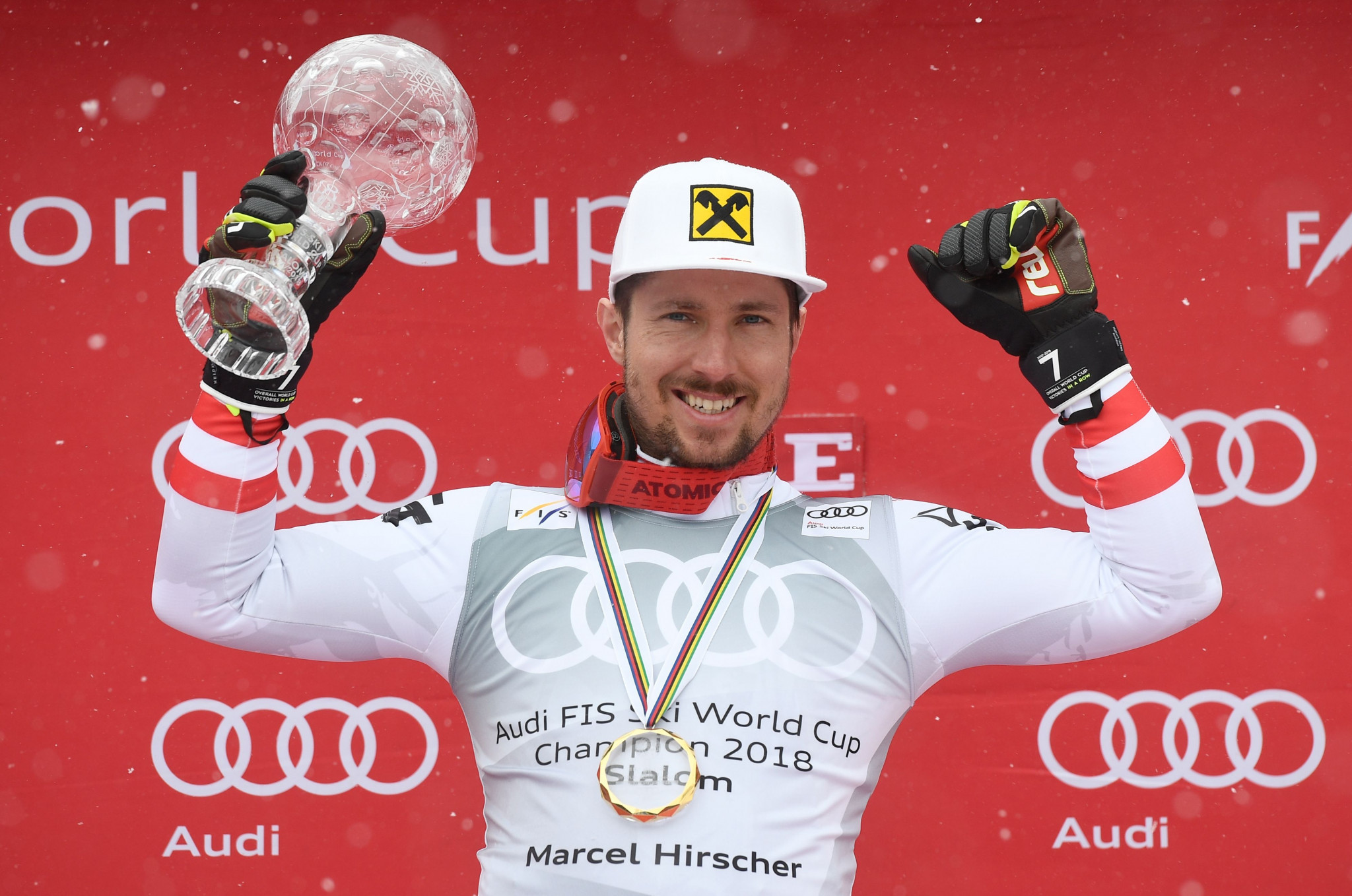 AIJS award Hirscher Skieur d'Or Trophy