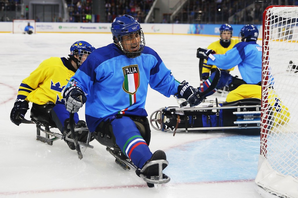 Italian star says European teams must focus on developing young ice sledge hockey talent