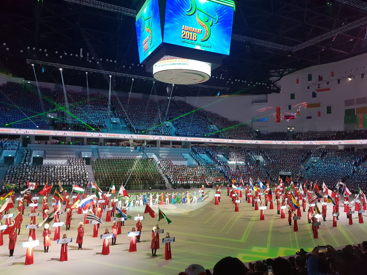 insidethegames is reporting LIVE from the World Weightlifting Championships in Ashgabat