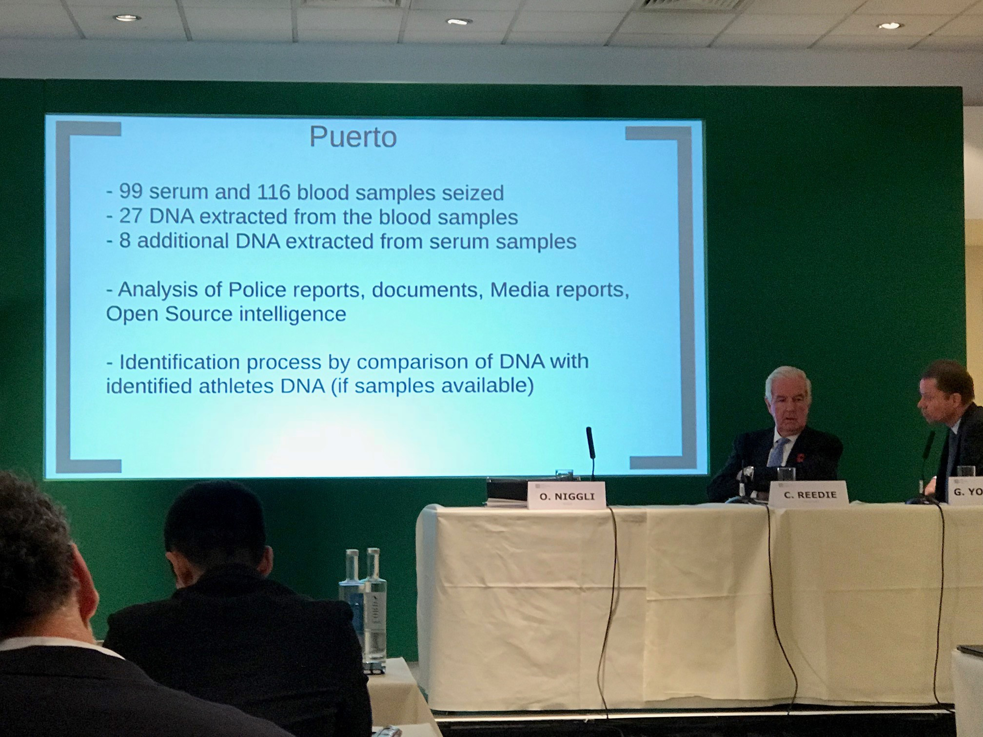 WADA hopeful of announcing action in long-running Operation Puerto case in May