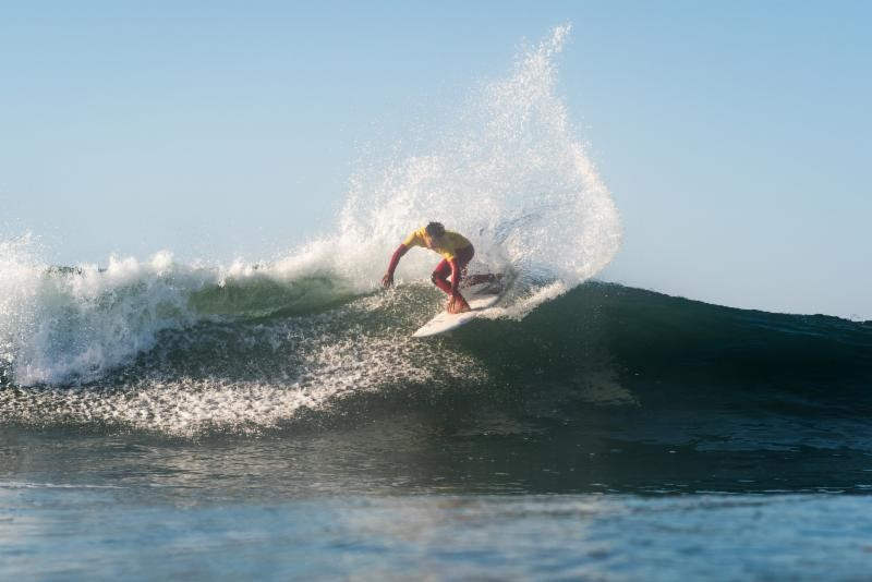 Hosts United States on track to defend team title at ISA World Junior Surfing Championships