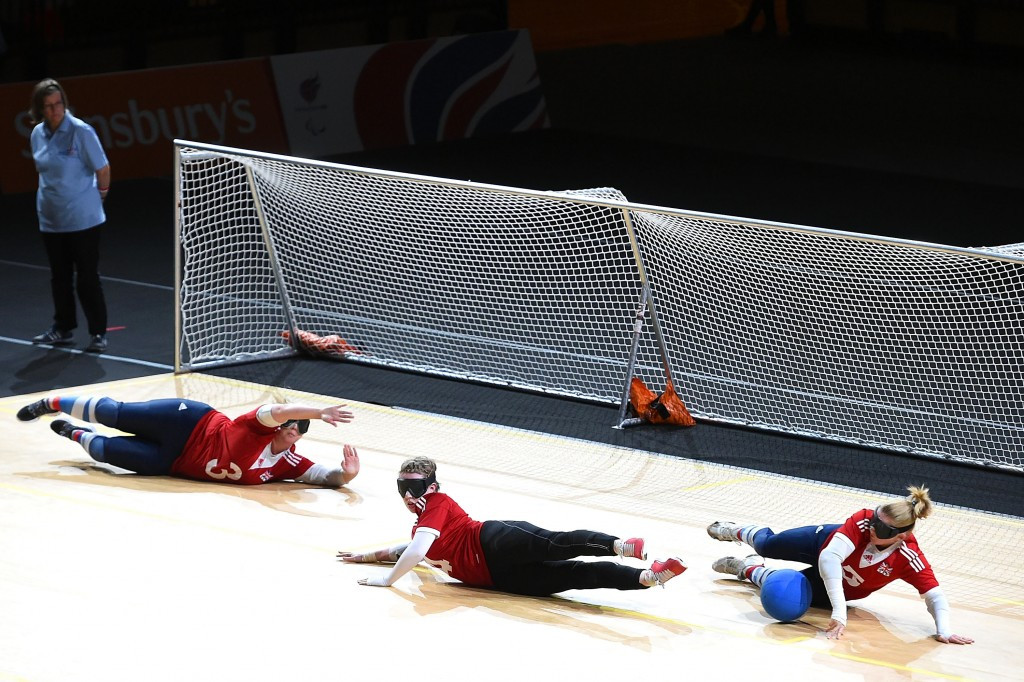 Goalball UK claim youngsters playing the sport are 47 per cent more likely of securing full-time employment or a place in full-time education