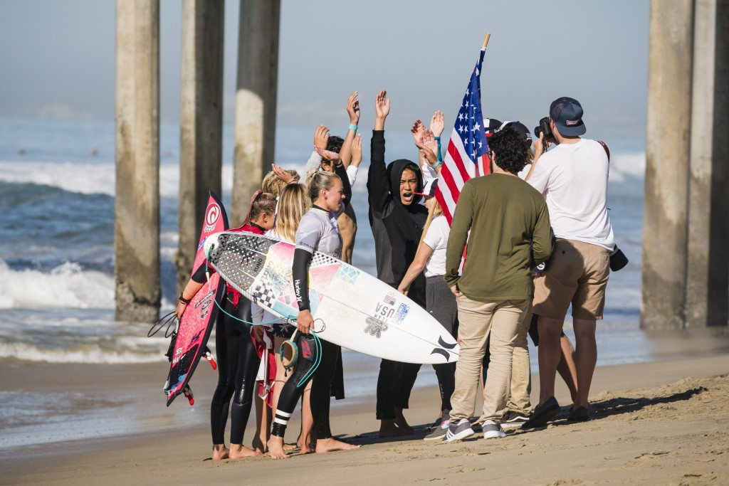 United States and Japan vying for top spot at ISA World Junior Surfing Championships