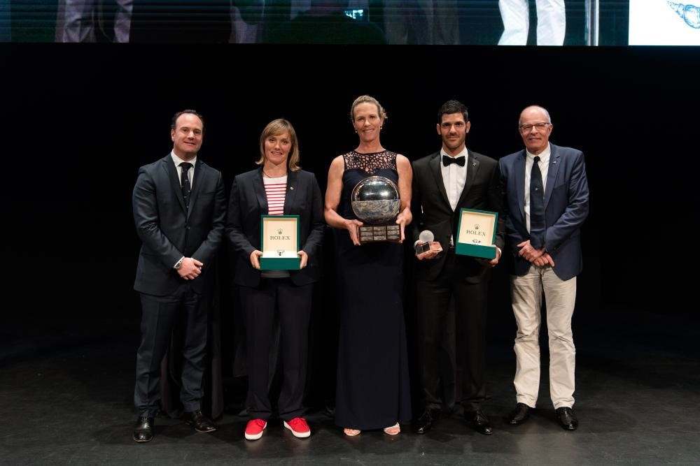 Brouwer and Riou earn women's prize as Kontides claims men's top honour at World Sailor of the Year awards