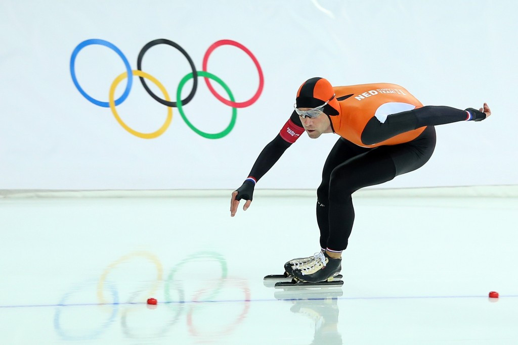 Olympic gold medal winner Mark Tuitert is one of two Dutch skaters to complain to the European Commission