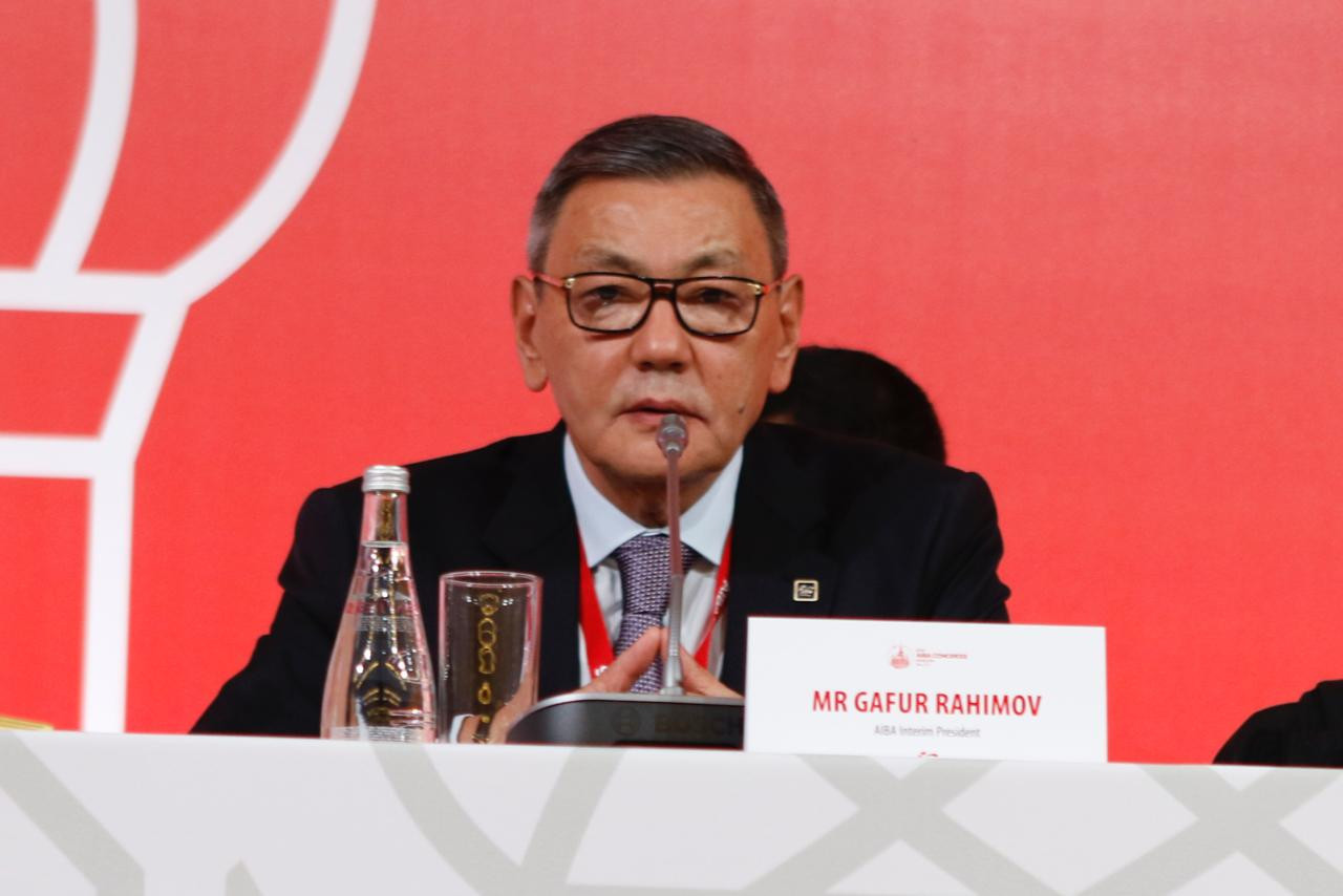 AIBA Interim President Gafur Rakhimov revealed that 38 doping cases dating back to 2010 had been closed ©Boxing Federation of Russia