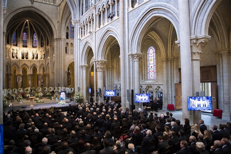 Sporting world pays tribute to Baumann at memorial service in Lausanne