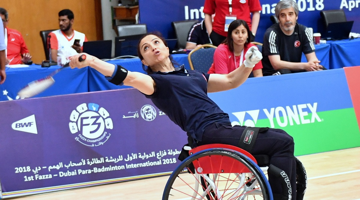 Turkish hopes high for Seckin and Uluc at European Para-Badminton Championships