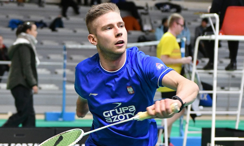 Poland's top seed in the men's singles wheelchair event at the European Para-Badminton Championships, Bartlomiej Mroz, is making smooth progress ©BWF