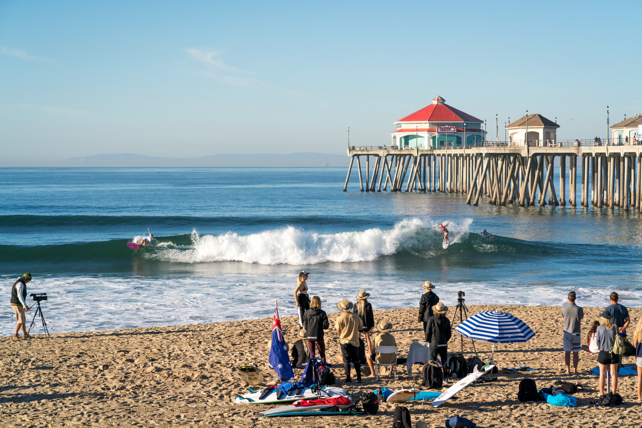 The event at Tokyo 2020 will be more than just a surfing competition, designed to show off wider surfing culture ©ISA
