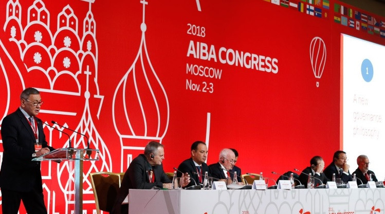 "Gafur Rakhimov claimed in August that AIBA would have gone bankruptif it had not signed a ""settlement agreement"" with an Azerbaijani company called Benkons ©AIBA"