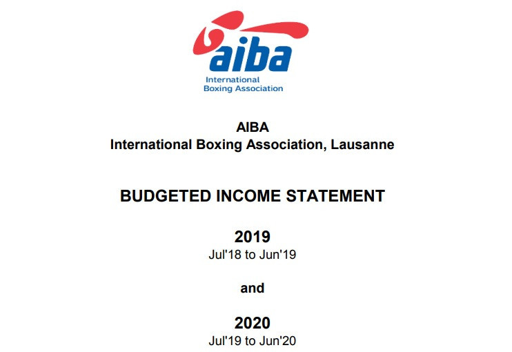 Olympic money looks set to account for over 60 per cent of AIBA operating income in current quadrennium