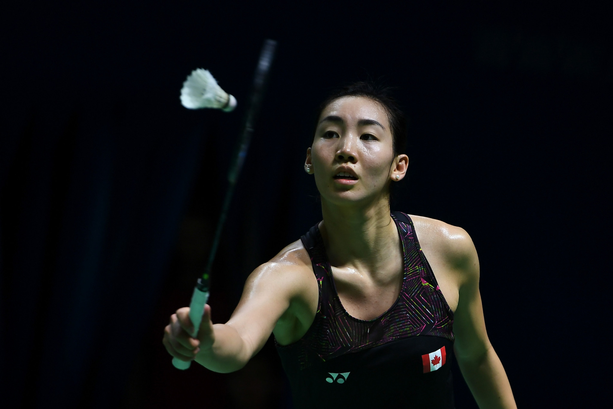 Canada's Michelle Li reached the women's singles final ©Getty Images