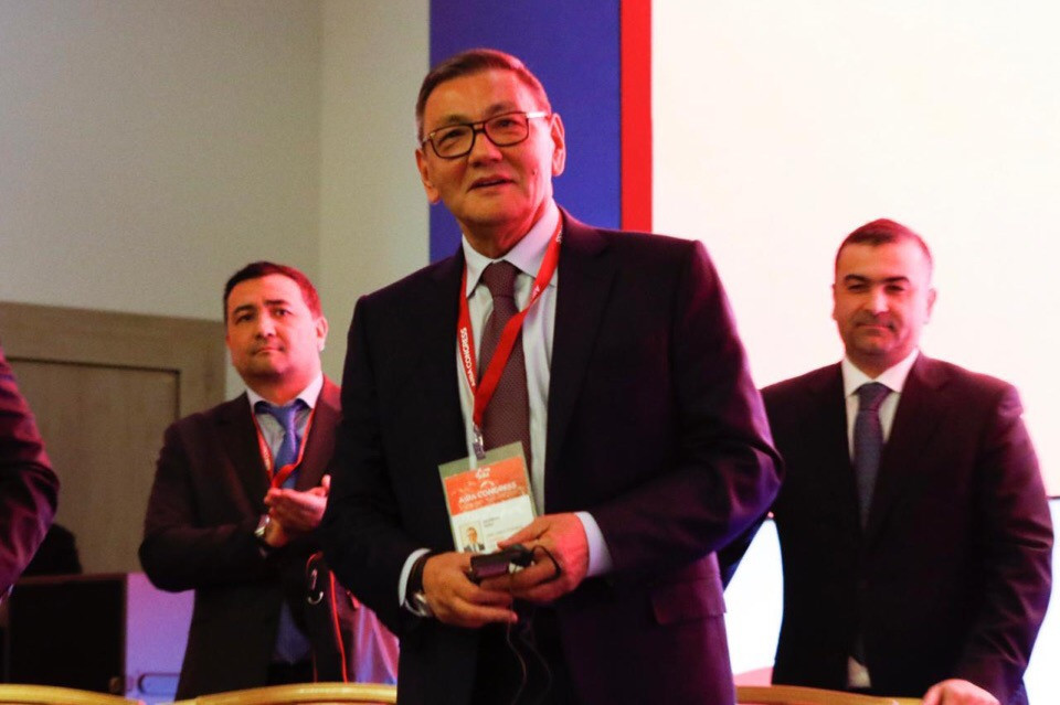 "Rakhimov hopeful of quick end to IOC inquiry as claims time to ""leave behind all the politics"""