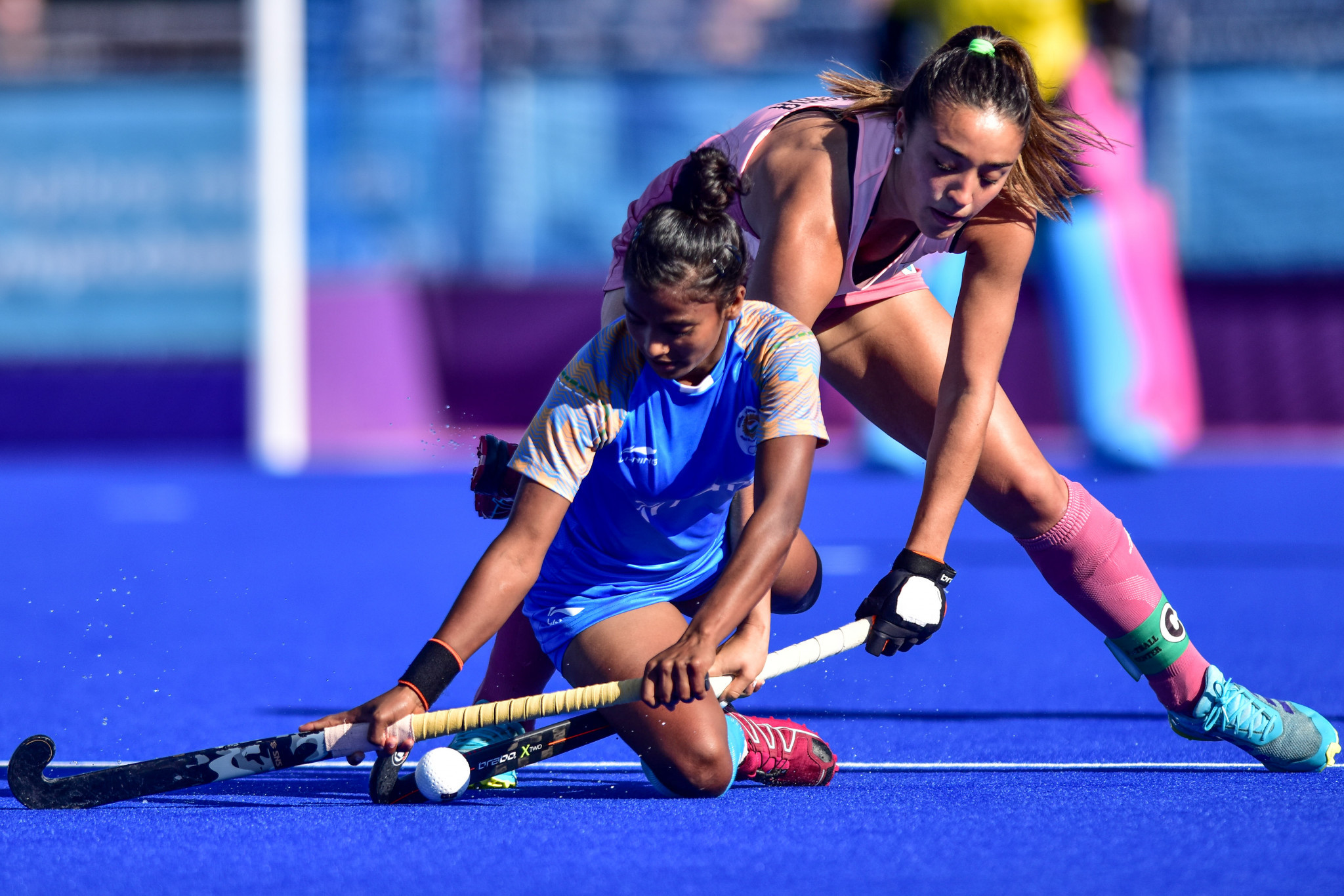 Argentina won the women's hockey 5s title at the 2018 Youth Olympic Games in Buenos Aires ©Getty Images
