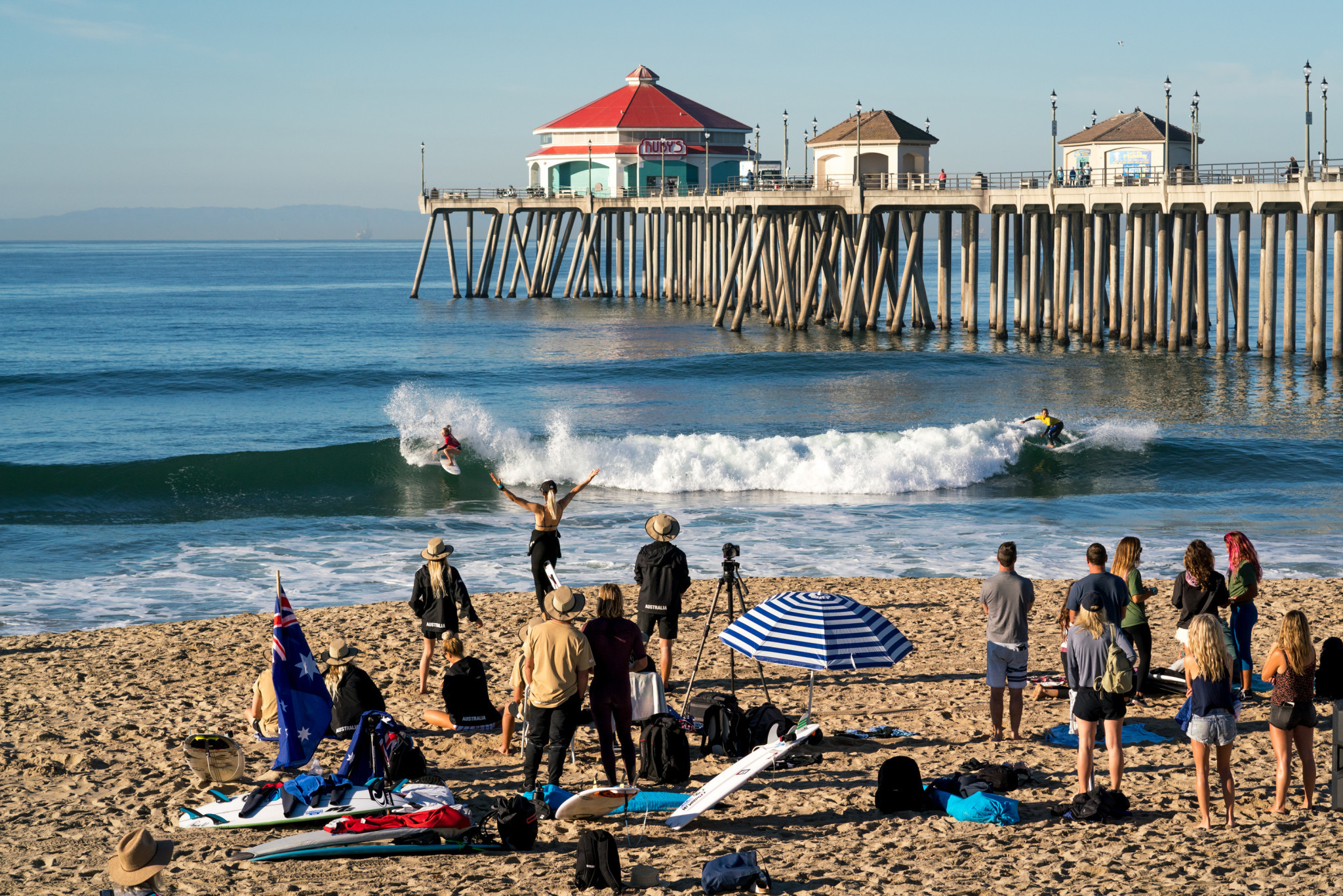 "Huntington Beach should be ""very serious contender"" to host Olympic surfing in 2028, official claims"