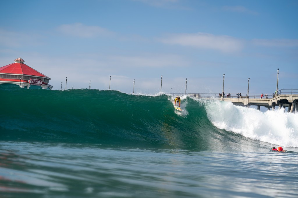The waves at Huntington Beach are said to be some of the most consistent in the world ©ISA