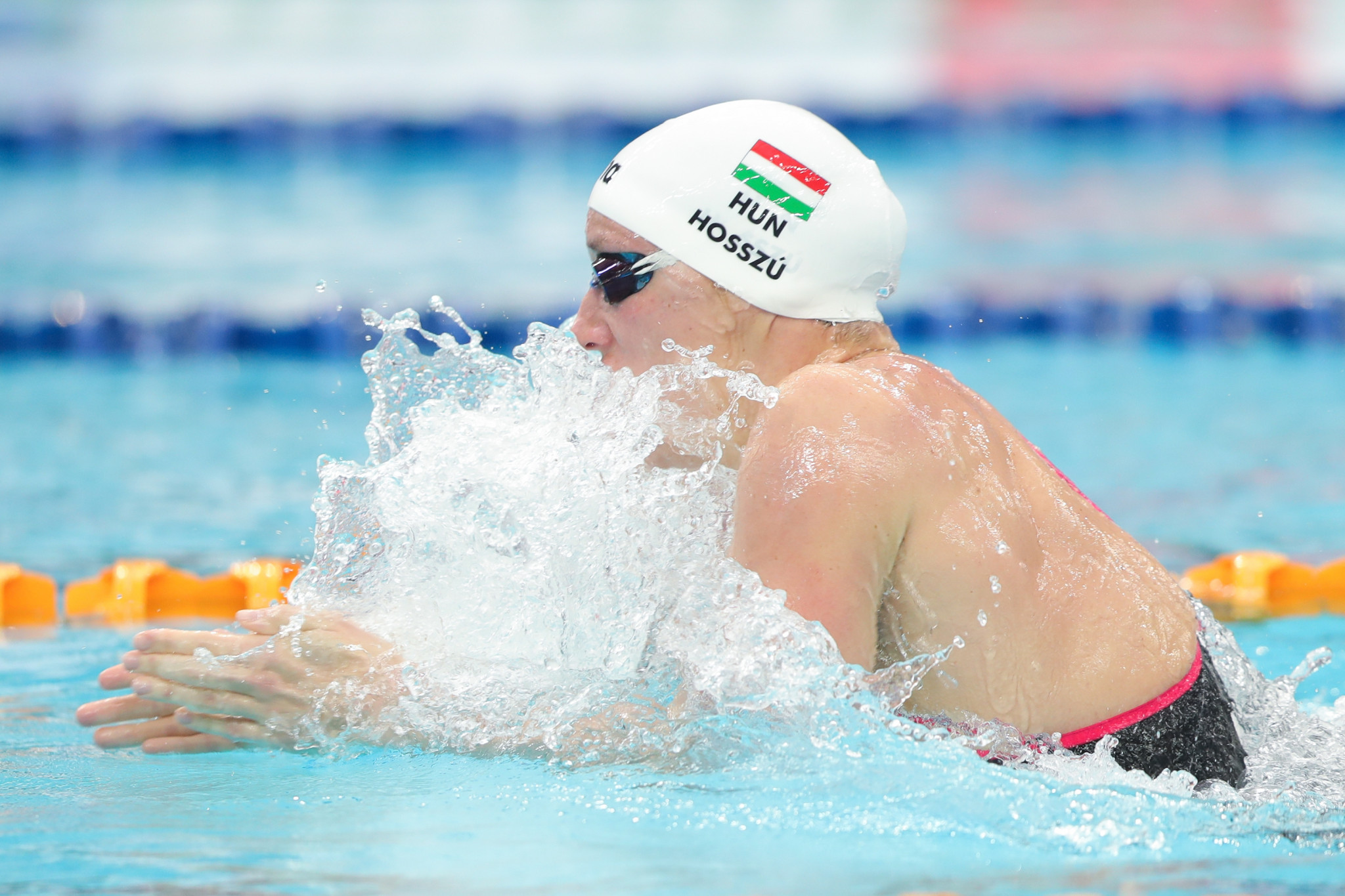 Gold and silver at Beijing Swimming World Cup give Hosszú the edge over rival Sjostrom