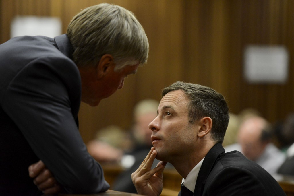 Pistorius also faces a campaign by prosecutors seeking to upgrade his conviction